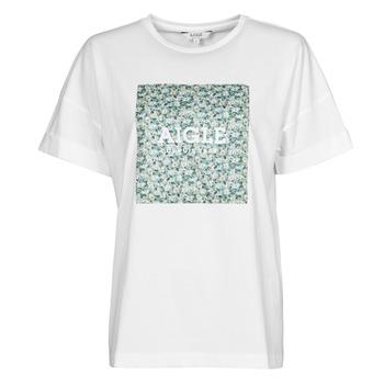 material Women short-sleeved t-shirts Aigle RAOPTELIB White