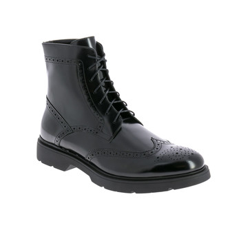 Shoes Men Mid boots André CAMPBELL Black