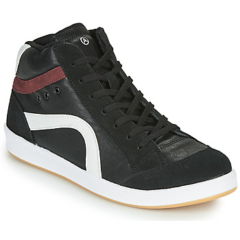 Shoes Men High top trainers André HIGHTECH Black