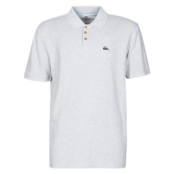 material Men short-sleeved polo shirts Quiksilver LOIA POLO Grey