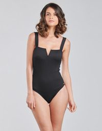 material Women Swimsuits Roxy MIND OF FREEDOM ONE PIECE Black