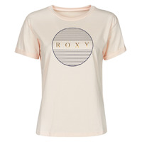 material Women short-sleeved t-shirts Roxy EPIC AFTERNOON CORPO Pink