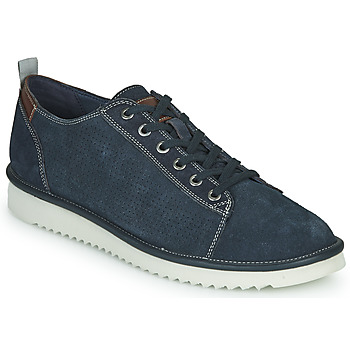 Shoes Men Low top trainers Geox U DAYAN Blue