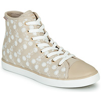 Shoes Low top trainers Geox JR CIAK FILLE Beige