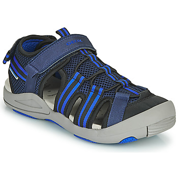 Shoes Sandals Geox JR SANDALE KYLE Blue