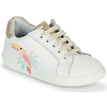 Shoes Girl Low top trainers GBB EDONIA White