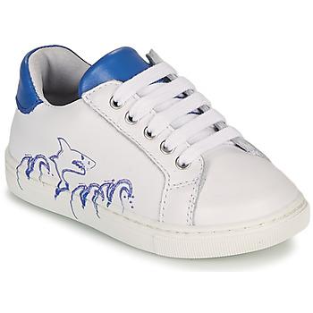 Shoes Boy Low top trainers GBB KARAKO White