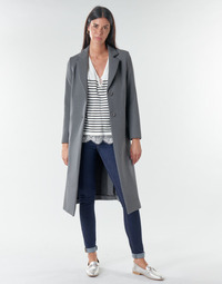 material Women coats Benetton  Grey