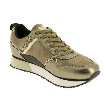 Shoes Women Low top trainers Xti CORENTYNE Gold