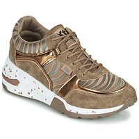 Shoes Women Low top trainers Xti CONGOLADY Gold