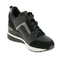 Shoes Women Low top trainers Xti COMBILADY Black