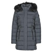 material Women Duffel coats Only ONLLUNA Grey