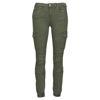 material Women Cargo trousers Only ONLMISSOURI Kaki