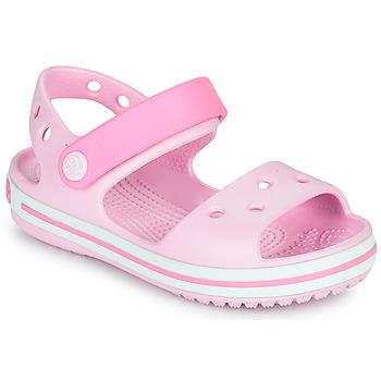 Shoes Girl Sandals Crocs CROCBAND SANDAL KIDS Pink