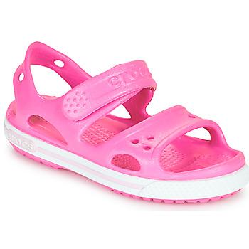 Shoes Girl Sandals Crocs CROCBAND II SANDAL PS Pink