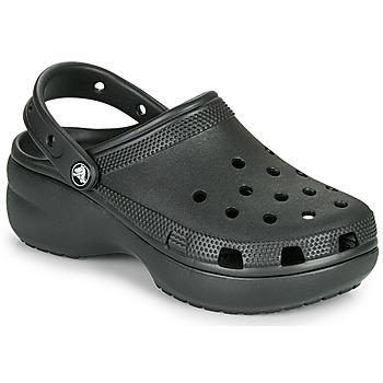 Shoes Women Clogs Crocs CLASSIC PLATFORM CLOG W Black