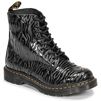 Shoes Women Mid boots Dr Martens 1460 PASCAL Black