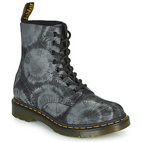 Shoes Women Mid boots Dr Martens 1460 PASCAL Black / Grey
