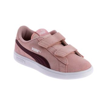 Shoes Women Low top trainers Puma PUMA SMASH SD Pink