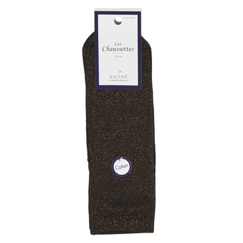Accessorie Women Socks André LUREXBRONZE Black / Bronze