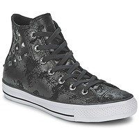 Shoes Women High top trainers Converse CHUCK TAYLOR ALL STAR HARDWARE Black / Silver
