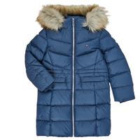 material Girl Duffel coats Tommy Hilfiger KG0KG05397-C87-C Marine