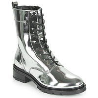 Shoes Women Mid boots André CHADOW Silver