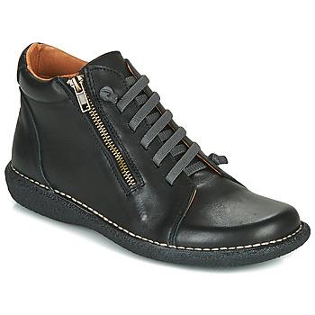 Shoes Women Mid boots Casual Attitude NELIO Black