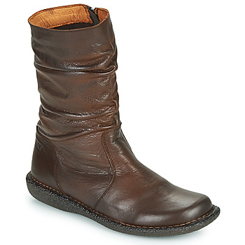 Shoes Women Mid boots Casual Attitude NIELOO Brown