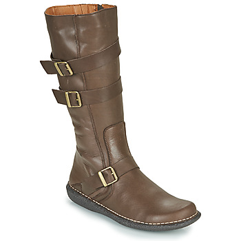 Shoes Women Boots Casual Attitude NIBOOT Brown