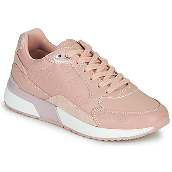Shoes Women Low top trainers Guess MOXEA 2 Pink