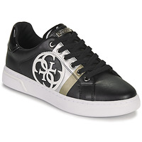Shoes Women Low top trainers Guess REATA Black