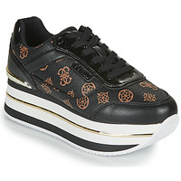 Shoes Women Low top trainers Guess HANSIN Black
