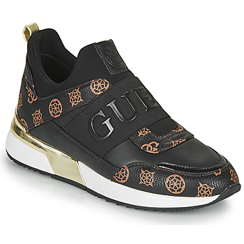 Shoes Women Low top trainers Guess MAYGIN Black