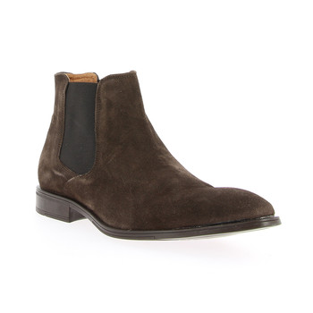 Shoes Men Mid boots André VOLCANIC Brown