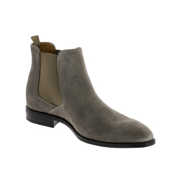 Shoes Men Mid boots André VOLCANIC Grey