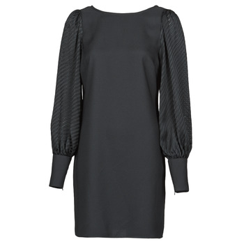 material Women Short Dresses Naf Naf  Black
