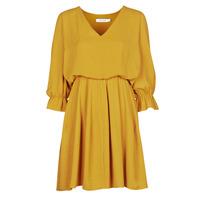 material Women Short Dresses Naf Naf  Yellow