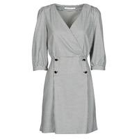 material Women Short Dresses Naf Naf  Black / White