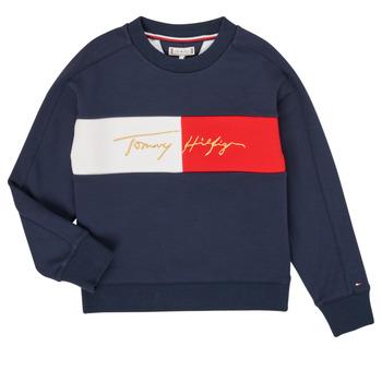 material Girl sweaters Tommy Hilfiger KG0KG05497-C87-J Marine