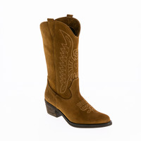 Shoes Women Boots André APALACHEE Brown