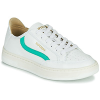 Shoes Women Low top trainers Superdry BASKET LUX LOW TRAINER White