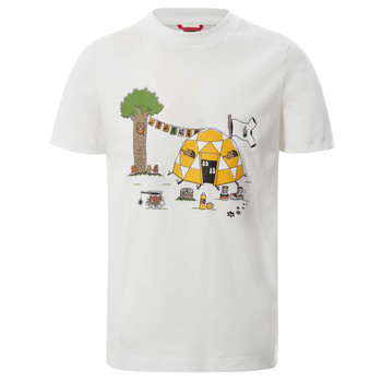 material Boy short-sleeved t-shirts The North Face GRAPHIC TEE White