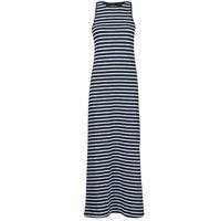 material Women Long Dresses Superdry JERSEY MAXI DRESS Blue