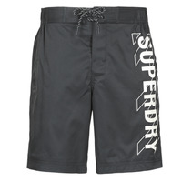 material Men Trunks / Swim shorts Superdry CLASSIC BOARD SHORT 19 INCH  black