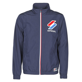 material Men Macs Superdry TRACK CAGOULE Eclipse / Navy