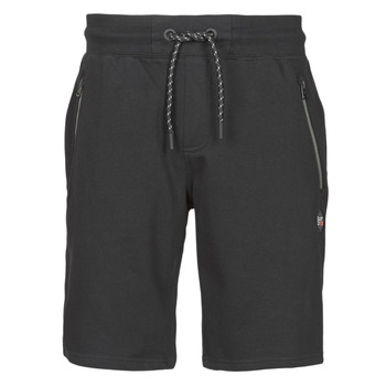 material Men Shorts / Bermudas Superdry COLLECTIVE SHORT Black