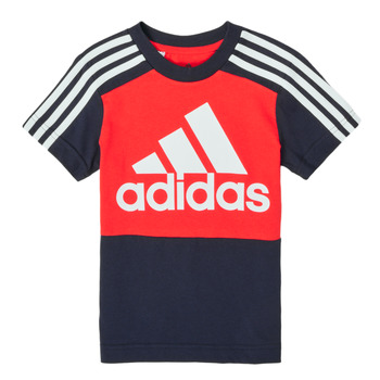 material Boy short-sleeved t-shirts adidas Performance B CB T Red / Marine
