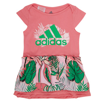 material Girl Short Dresses adidas Performance FLOWER DRESS Pink