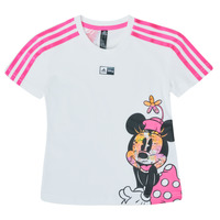 material Girl short-sleeved t-shirts adidas Performance LG DY MM TEE White